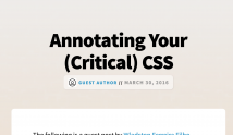 We're on CSS-Tricks!